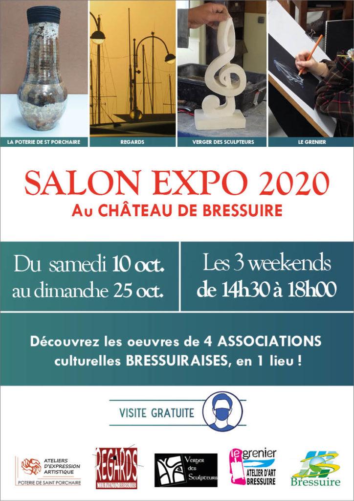 affiche-salon-expo-oct.2020-poterie-st-porchaire
