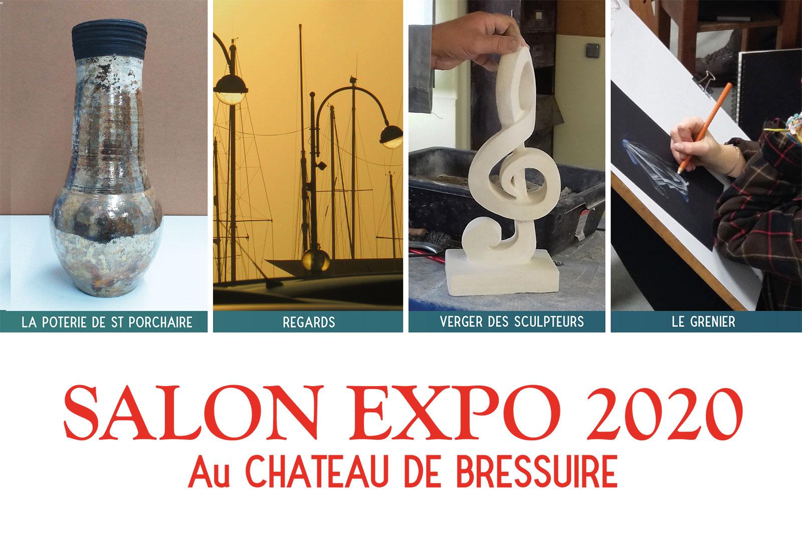 la poterie de saint porchaire salon expo des adhérents octobre 2020