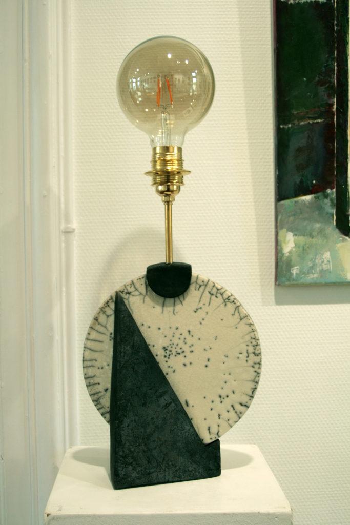 atelier poterie lampe raku
